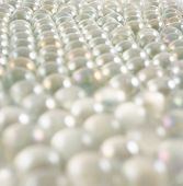 Transparent balls as abstract background