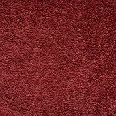 Dark red color towel cloth