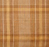 Brown plaid cloth texture