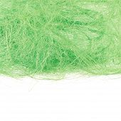 Surface covered with the fiber threads