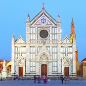 Basilica of the Holy Cross in Florence, Italy