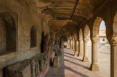 Arcade Of Chand Baori Stepwell In Rajasthan