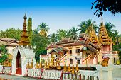 stock photo of chums  - Wat Sri Chum Lampang City of Thailand - JPG