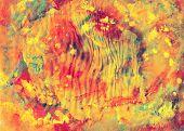 Colorful Paints Canvas, Art Background
