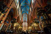 Interior Of St. Mary's Basilica