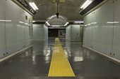 Naples Underground. Detail Of The Corridor
