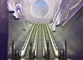 Naples Subway, Toledo Art Station