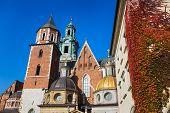Royal Palace In Wawel In Krakow