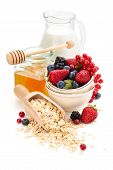 Oatmeal Ingredients.