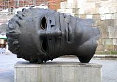 Sculpture By Igor Mitoraj On The Main Square In Cracow
