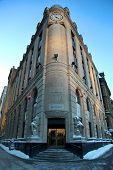 OTTAWA, CANADA - JANUARY 20, 2014:  The Central Post Office is a historic building in Ottawa, Ontario, Canada.