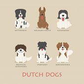 Set Of Dutch Dogs