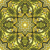 Kaleidoscope Seamless Pattern