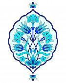 Artistic Ottoman Seamless Pattern Series Sixty Seven