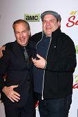 LOS ANGELES - JAN 29:  Bob Odenkirk, Jeff Garlin at the