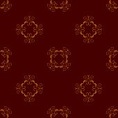 A Seamless Background With Ornament