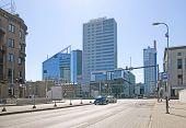 Tallinn. Estonia. Bank SEB and City Plaza building