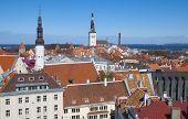 Tallinn. Estonia. View of Old Town