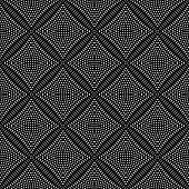Seamless checked pattern. Vector art.