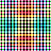 Seamless color blocks grid pattern background