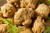 picture of dipping  - Homemade Deep Fried Mushrooms with Dipping Sauce - JPG