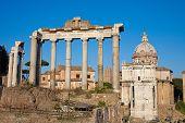 Rome Forum, Ruins
