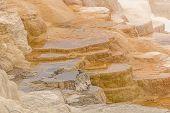 Colorful Limestone Terraces