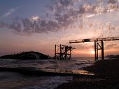 West Pier at sunset 2