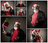 Grumpy Badass Santa Claus