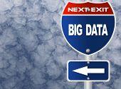 Big data road sign