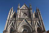 Orvieto Cathedral in Orvieto, Umbria, Italy.