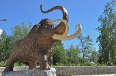 pic of mammoth  - Monument mammoth - JPG