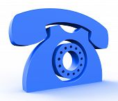 stock photo of helpdesk  - Call Us Service Showing Assistance Helpdesk And Conversation - JPG