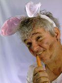 Dirty Senior Man...Springtime Bunny