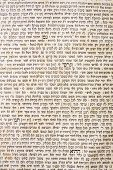 stock photo of sukkot  - talmud sheet as a background - JPG