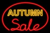 Autumn Sale Neon