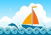 Sailboat And Fish