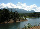 A Lake On Pikes Peak.