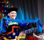 Buryat (mongolian) Dancer