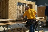 Using Sliding Miter Saw