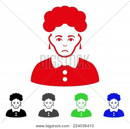 Dolor Brunette Woman