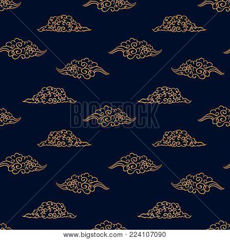 Asian pattern Kabuki