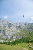 Cableway To Picos De Europa Mountains