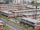 City owned public housing project in the western United States.