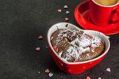 Valentines Day Mug Cake poster