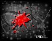 Dark scratch grunge background