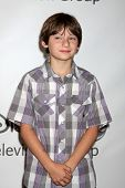 LOS ANGELES - 7 de AUG: Jared Gilmore en el Tour de verano prensa Disney/ABC Television Group en el Beve
