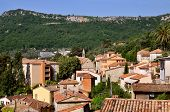 Village of  Le Bar sur Loup in France