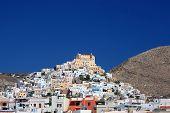 Cidade de ilha grega