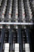Sound Editing Console